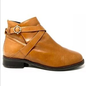 Ariat Double Strap Buckle Closure Ankle Boots